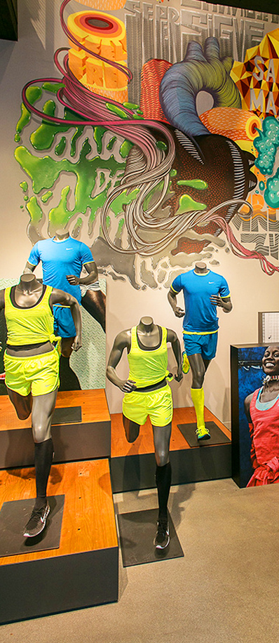 217b8649cd6 Nike abre su `flagship´ en la `milla de oro´ de Madrid ...