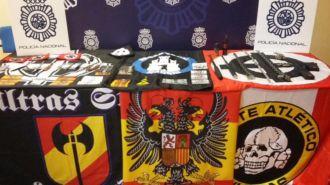 Detenidos 16 ultraderechistas de Skins Retiro por 40 delitos de odio
