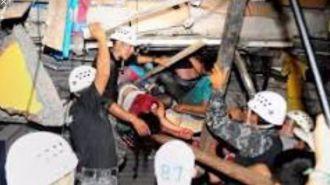 Mas de 200 muertos y 1.557 heridos en el terremoto de Ecuador