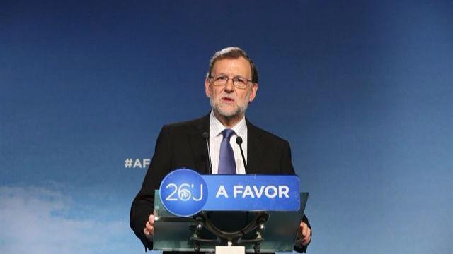 Rajoy: urge encontrar acuerdos para formar gobierno