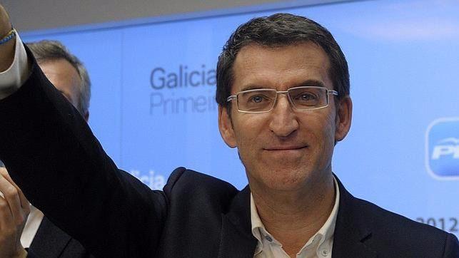 Galicia: Feij�o mantiene la mayor�a absoluta del PP y Podemos gana al PSOE