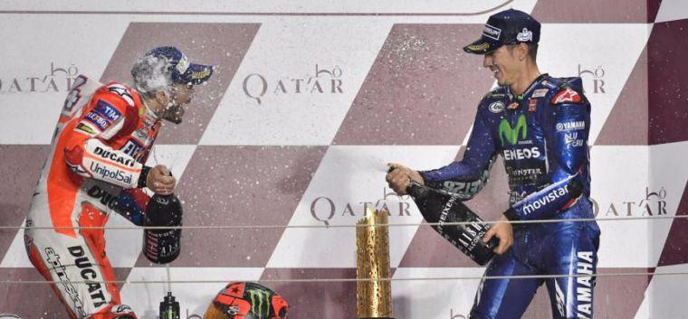 Viñales ruge en la fría noche de Qatar