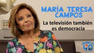 María Teresa Campos, hospitalizada con un diagnóstico de isquemia cerebral