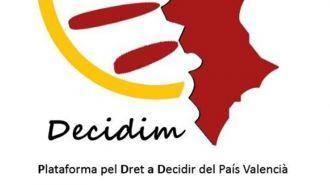 Entidades valencianas celebran este lunes un 'gran acto de solidaridad' con Catalunya