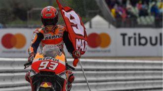 Marc Márquez, Pedrosa y Lorenzo, el triplete español en MotoGP