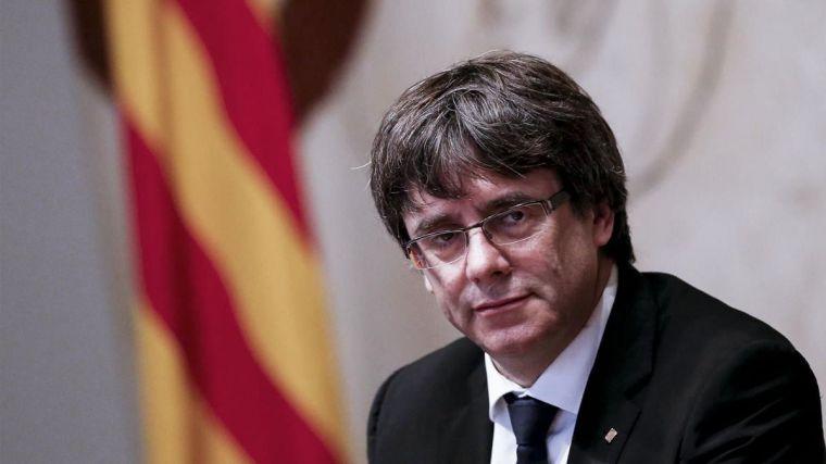 España pedirá la detención de Puigdemont si viaja de Bruselas a Dinamarca