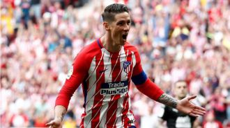 Torres se despide con dos goles y pasa a la historia del Atlético