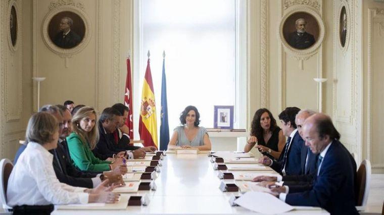 Primer Consejo del nuevo Gobierno de la Comunidad