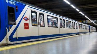 Cortada la linea 9 del Metro por las lluvias entre Arganda y La Poveda