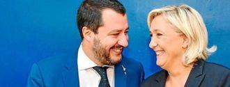 Abascal, el fugitivo entre Salvini y Marine Le Pen