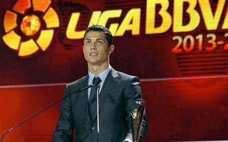 Premios LFP, nuevo 'hat trick' de Ronaldo
