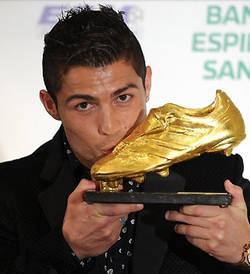 Cristiano Ronaldo recibe hoy la 'Bota de Oro'