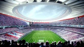 FCC pacta con el Atlético retrasar un año la terminación de La Peineta
