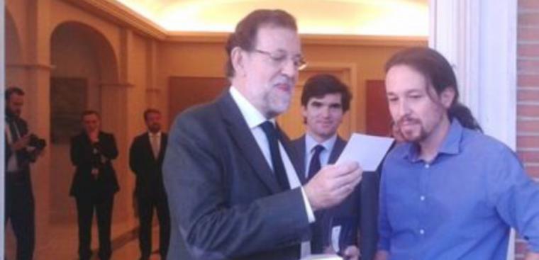 Rajoy e Iglesias ya piensan en pareja de baile