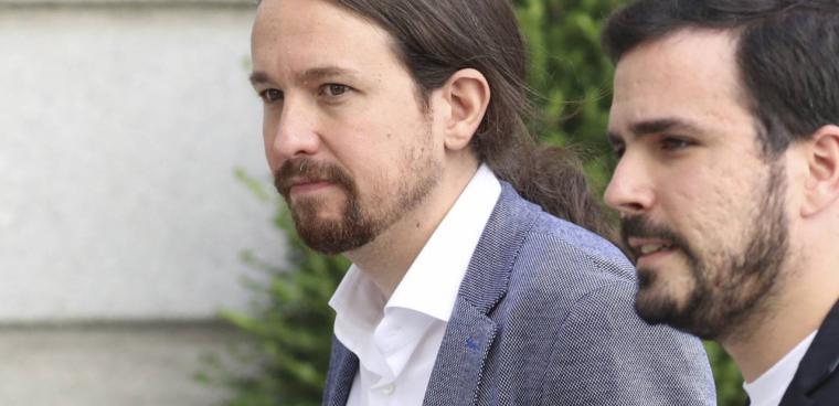 Iglesias y Garzón se juegan su futuro: juntos o separados