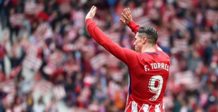 Simeone hace un guiño a Torres: es un icono del club