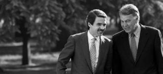 Aznar y Felipe regresan juntos al futuro