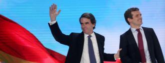 Casado y Aznar resucitan a Fraga para volver al poder