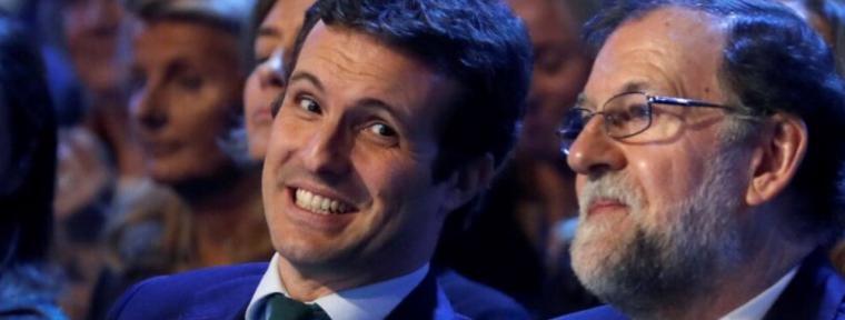 Elección de Casado: Aznar para atacar Rajoy para resistir