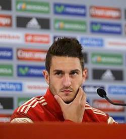 """Koke: """"Si los médicos dicen que Costa y Cesc no están aptos es que no están"""""""