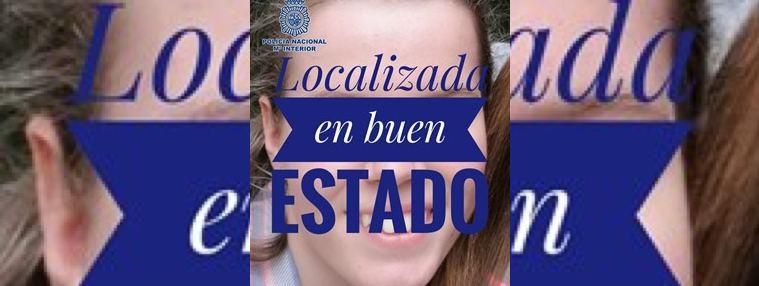 Localizada en buen estado la menor que desapareció en Madrid hace una semana