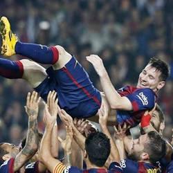 Messi supera a Zarra con 253 goles