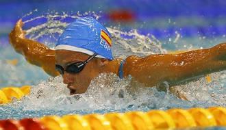 Belmonte peleará por las medallas en los 200 mariposa y los 400 estilos