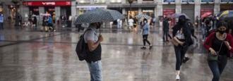Madrid vivió ayer 'la tormenta del siglo', el día más lluvioso desde 1920