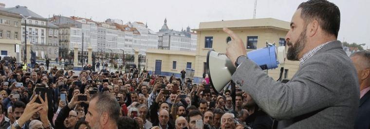 Los 200.000 votos de Vox que amenazan a Feijóo