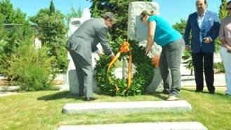 Homenaje a Miguel Angel Blanco en el vigésimo aniversario de su muerte