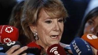 Aguirre asegura que el PSOE lleva 30 años 'detrás' de ella