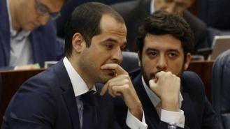 Ciudadanos avisa a Garrido: No gobernará en Madrid con partidos 'antieuropeos' como Vox
