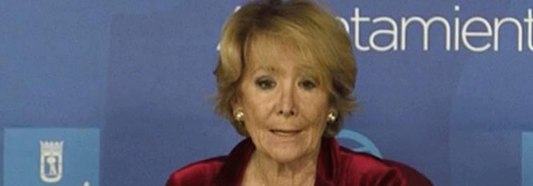 Aguirre acusa a Carmena de