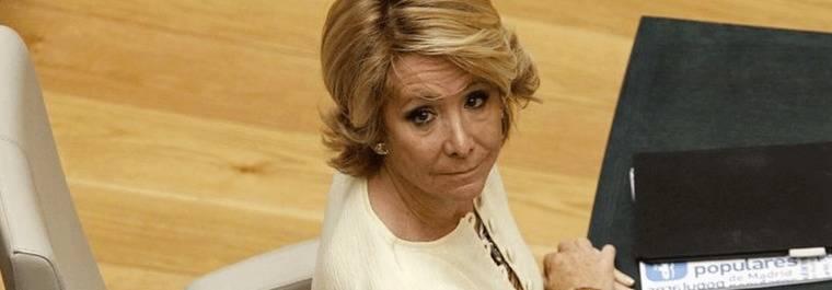 Aguirre pasa de la comisi�n de investigaci�n sobre el PP