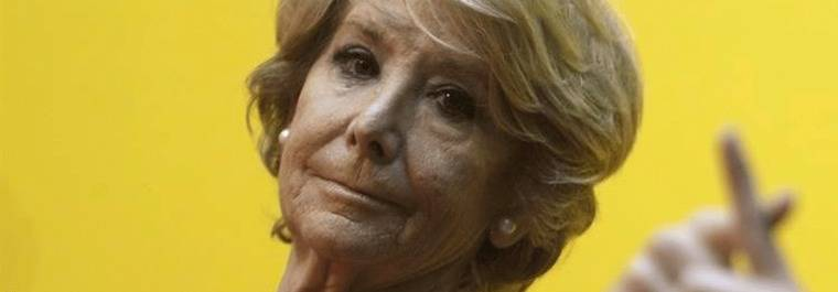 Aguirre vetada en la pancarta del Orgullo