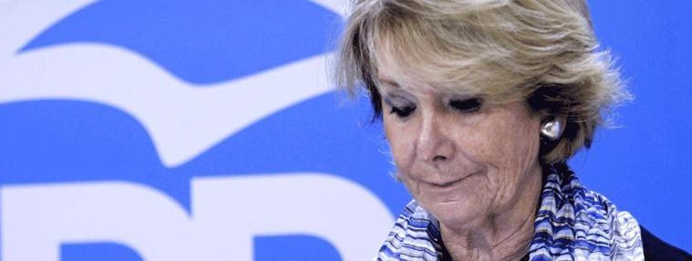 El juez reactiva la causa por la financiación iilegal del PP en época de Aguirre