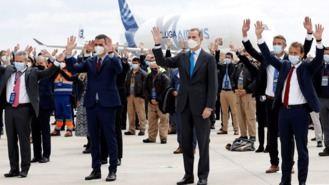 El Rey y Sánchez inauguran el Campus de Airbus, 3ª instalación aeronáutica de Europa