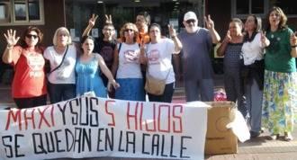 Una vecina iniciará una huelga de hambre si no dan solución a su desahucio