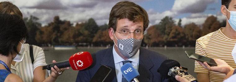 Almeida acusa a la izquierda de 'ensuciar el nombre de Madrid'