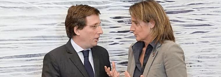 Almeida se reune con Ribera y abre la puerta a mejorar Madrid 360