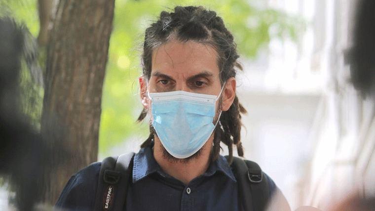 Rodríguez (Podemos) pederá su escaño por la condena del TS: Le inhabilita para sufragio pasivo