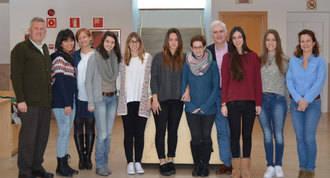 11 alumnas de la UAX colaboran en programas de salud