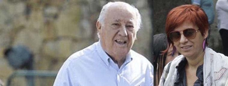 Amancio Ortega, su hija Sandra y Rafael del Pino, los más ricos de España