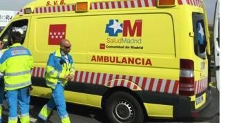 Muy grave un trabajador tras precipitarse desde 6 metros en Torrejón