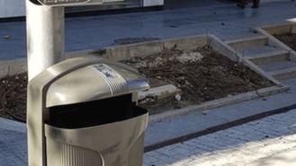 Lyma instalará papeleras con cenicero y tapa para evitar bolsas de basura