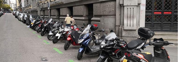 Madrid tendrá 23.000 plazas de aparcamotos en 2023