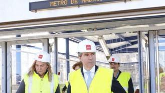 La nueva estación de Metro de Arroyofresno de la línea 7 estará abierta el 23 de marzo