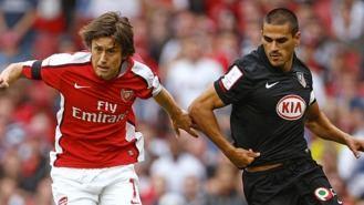 Arsenal- Atlético, duelo en la semifinal de la Liga Europea