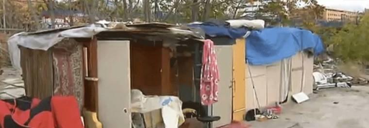 1.226 personas malviven en asentamientos