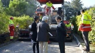 Arrancan las obras de asfaltado en la urbanización de Guadamonte